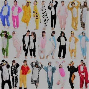 fotos de pijamas de animales